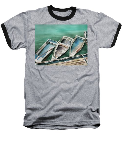 Ogunquit Maine Skiffs Baseball T-Shirt