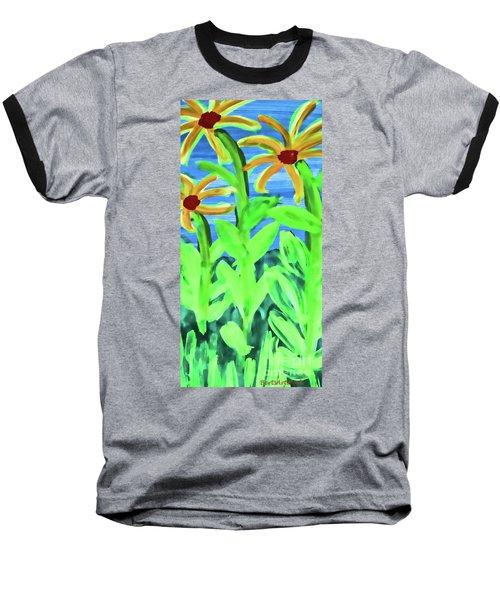 Oh Glorious Day Baseball T-Shirt by Roberta Byram