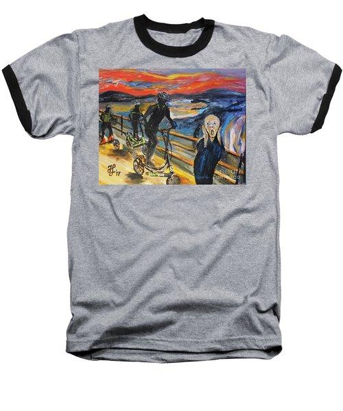 Oh No,elliptigo Baseball T-Shirt