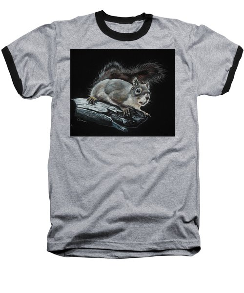 Oh Nuts  Baseball T-Shirt by Jean Cormier