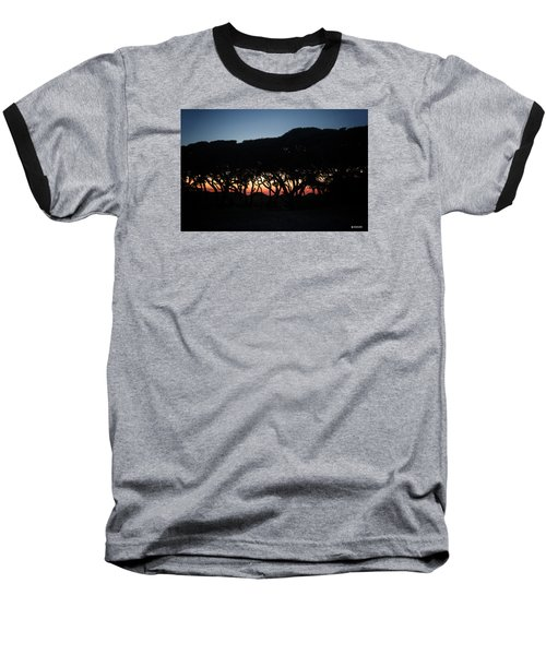Baseball T-Shirt featuring the digital art Oh Those Trees by Phil Mancuso