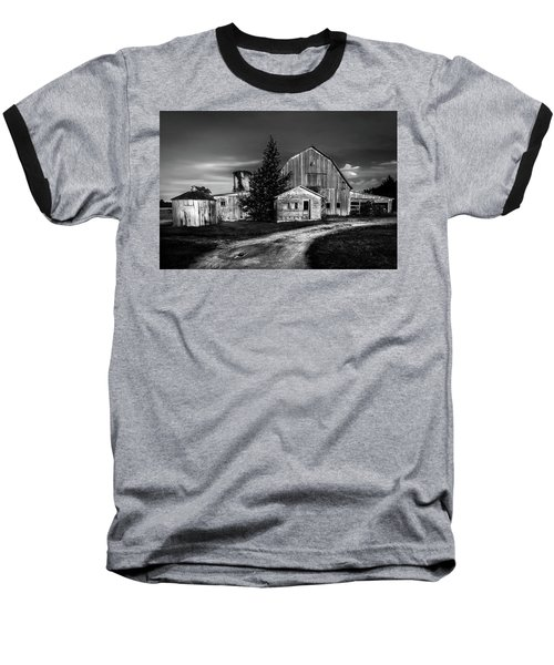 Ohio Barn At Sunrise Baseball T-Shirt