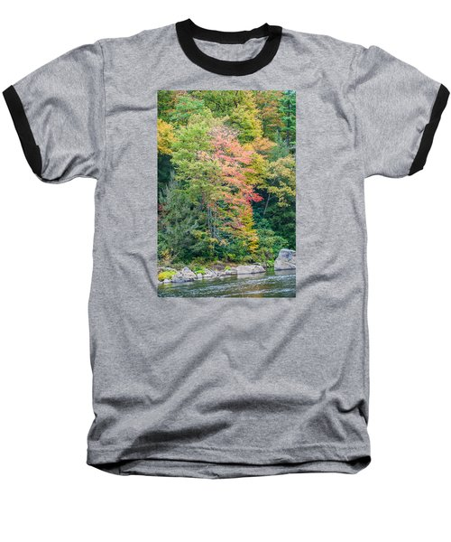 Ohio Pyle Colors - 9709 Baseball T-Shirt by G L Sarti