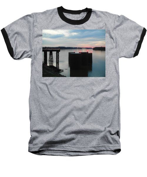 Ohio River View Baseball T-Shirt