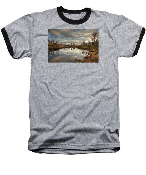 Ohio Sunset Baseball T-Shirt