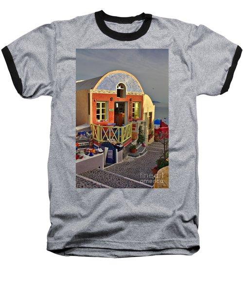 Oia Pub Baseball T-Shirt