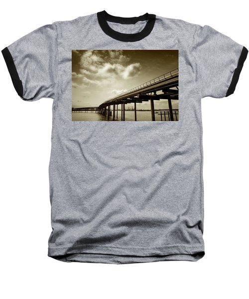 Oil Bridge II Baseball T-Shirt