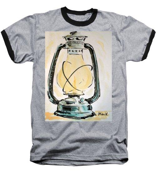 Oil Lamp Baseball T-Shirt