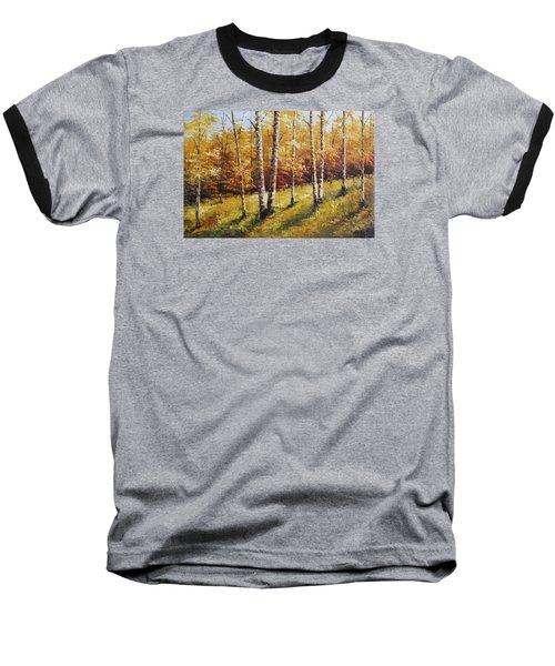 Oil Msc 028 Baseball T-Shirt