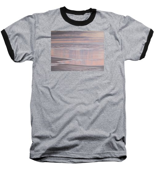 Oil On Canvas Baseball T-Shirt