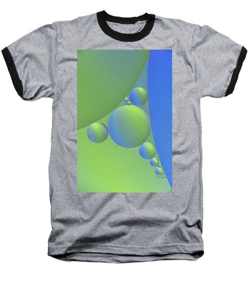 Oil Painting Baseball T-Shirt