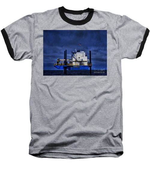 Oil Rig Baseball T-Shirt