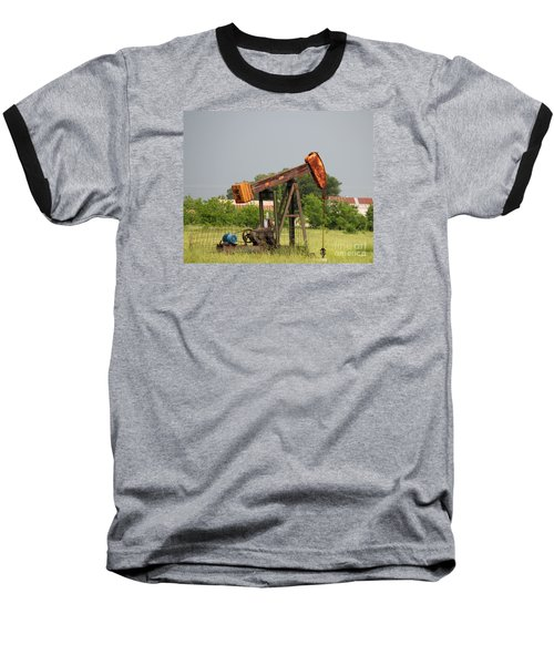Oil Well 2 Baseball T-Shirt