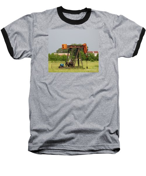 Oil Well Baseball T-Shirt