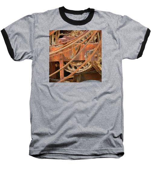 Oil Production Rig Baseball T-Shirt