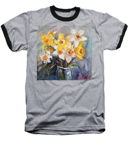 Ok Finished! #springflowers #daffodils Baseball T-Shirt
