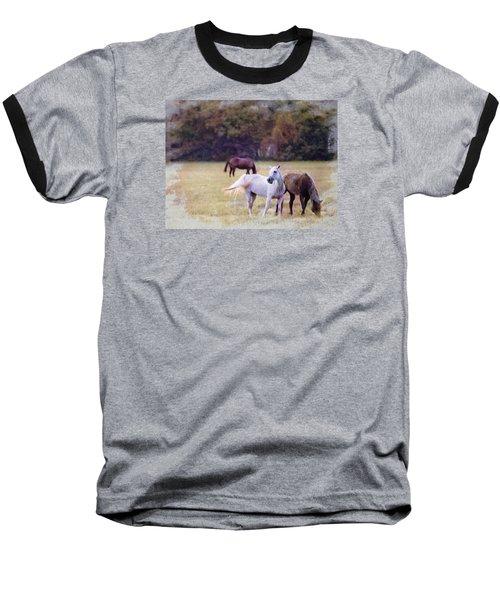 Ok Horse Ranch_1c Baseball T-Shirt