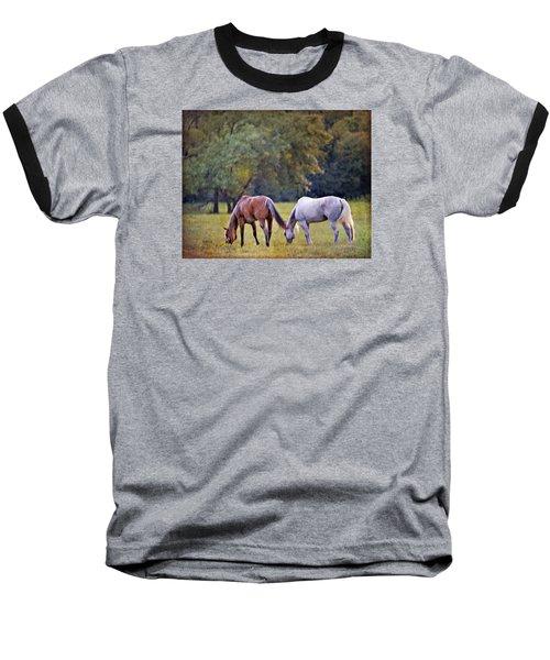 Ok Horse Ranch_2a Baseball T-Shirt