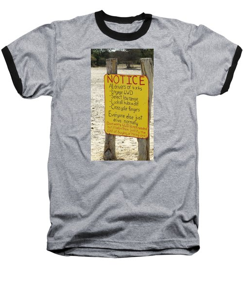 Okavango Humor Baseball T-Shirt