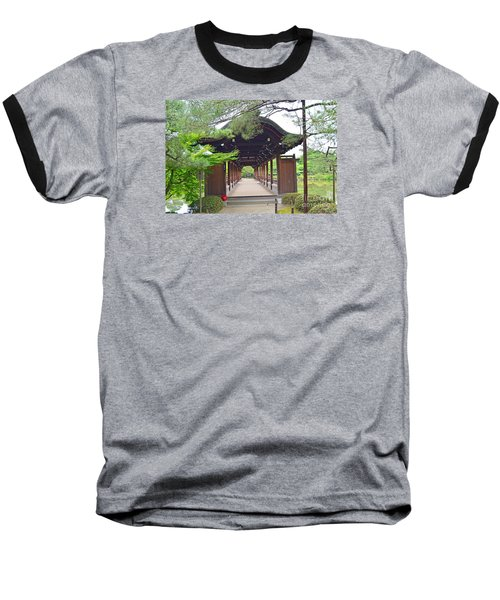 Okazaki Park And Heian Shrine Baseball T-Shirt by Eva Kaufman