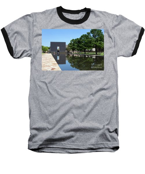 Oklahoma City National Memorial Bombing Baseball T-Shirt