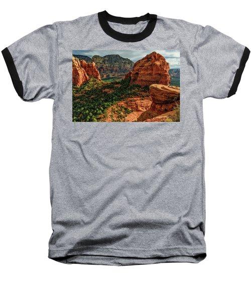 Olaf 06-32 Baseball T-Shirt by Scott McAllister