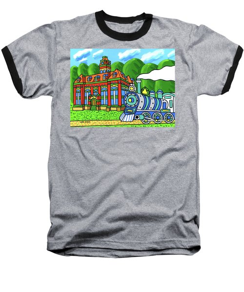 Old Alachua County Courthouse Baseball T-Shirt