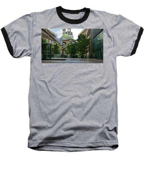 Old And New Buildings In London Baseball T-Shirt