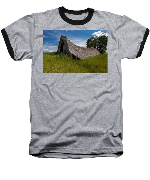 Baseball T-Shirt featuring the photograph Old And Sagging by Fran Riley