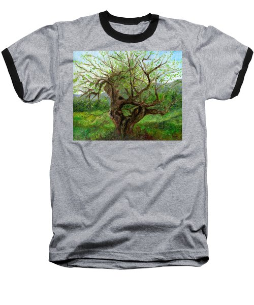 Old Apple Tree Baseball T-Shirt