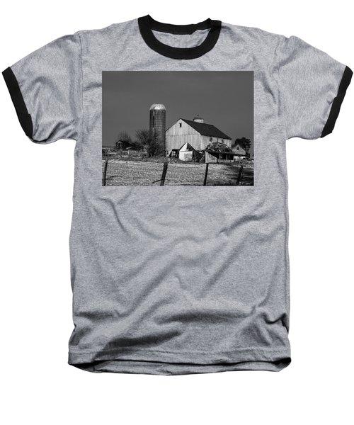 Old Barn 1 Baseball T-Shirt
