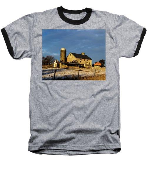 Old Barn 2 Baseball T-Shirt