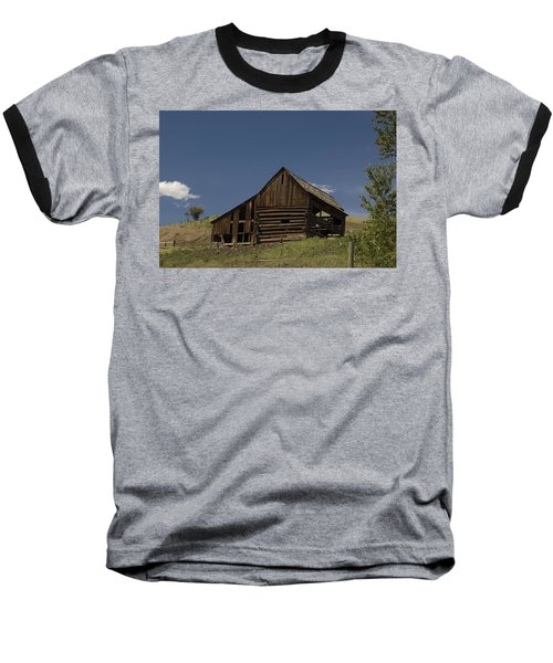 Old Barn 2 Baseball T-Shirt