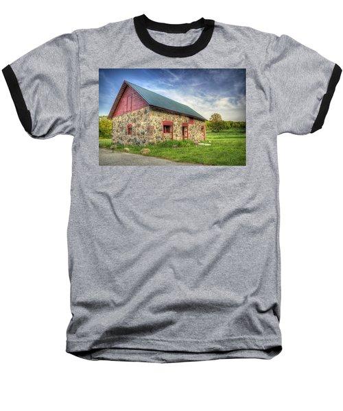 Old Barn At Dusk Baseball T-Shirt
