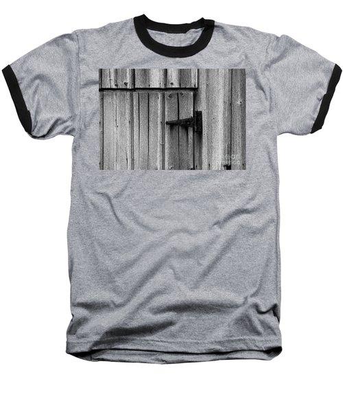 Old Barn Door Baseball T-Shirt