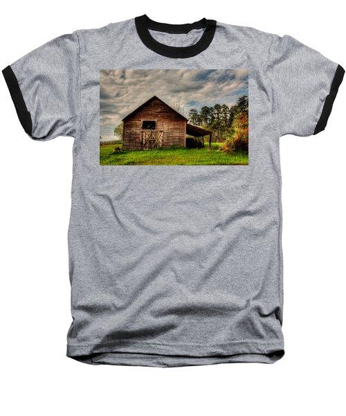 Old Barn Baseball T-Shirt by Ester Rogers