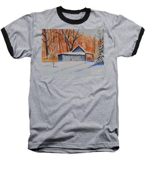 Old Barn I Baseball T-Shirt