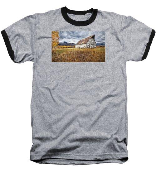 Old Barn In Steamboat,co Baseball T-Shirt