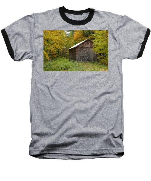 Old Barn New England Baseball T-Shirt