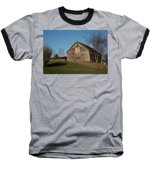 Old Barn On A Hill Baseball T-Shirt