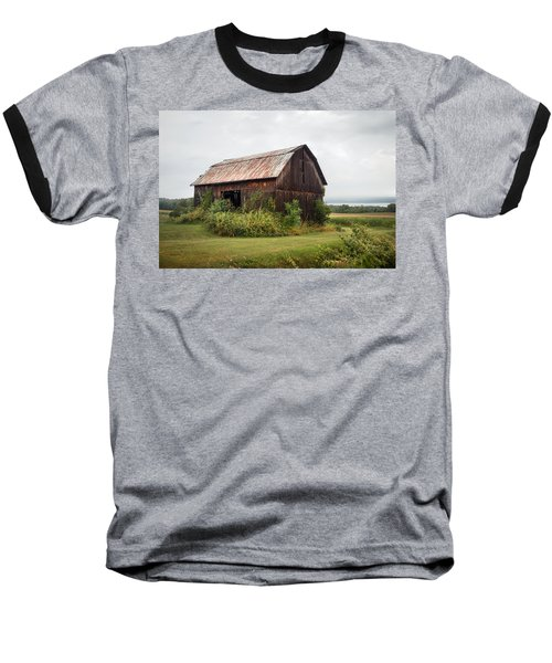 Old Barn On Seneca Lake - Finger Lakes - New York State Baseball T-Shirt