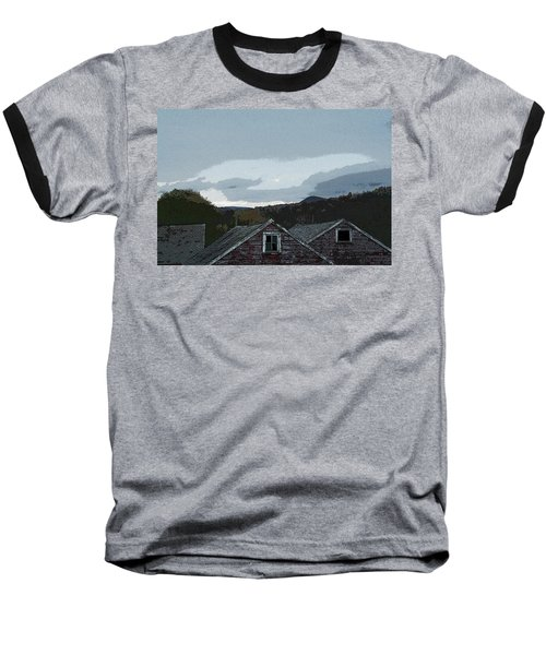 Old Barns Baseball T-Shirt