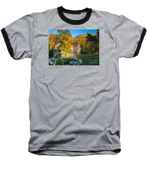 Old Beauty Baseball T-Shirt by Rima Biswas