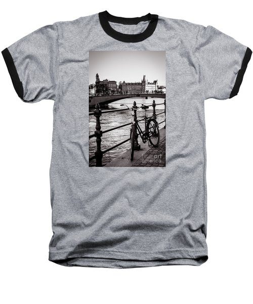 Old Bicycle In Central Stockholm Baseball T-Shirt