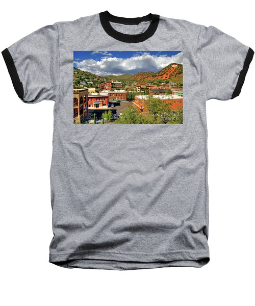 Old Bisbee Arizona Baseball T-Shirt