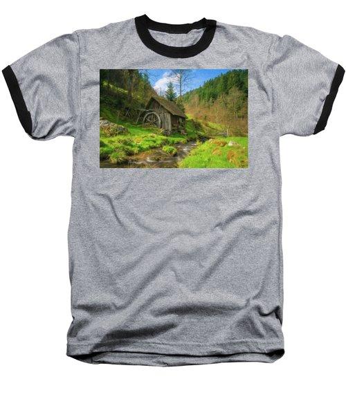 Old Black Forest Mill Baseball T-Shirt