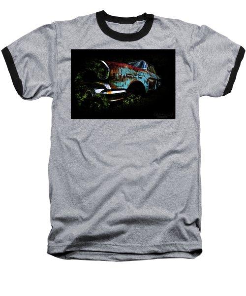 Old Blue Chevy Baseball T-Shirt