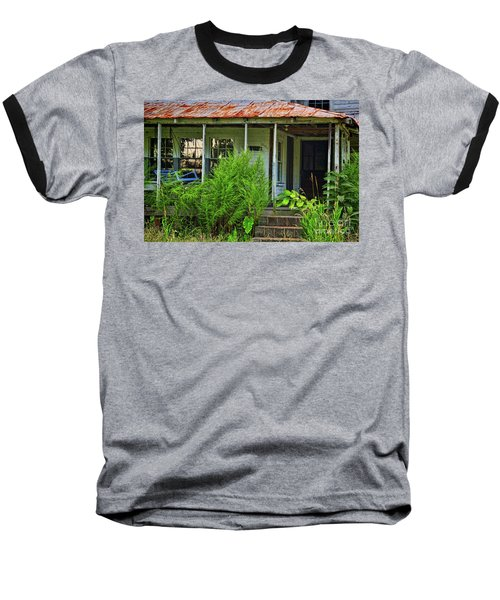Old Blue Swing Baseball T-Shirt
