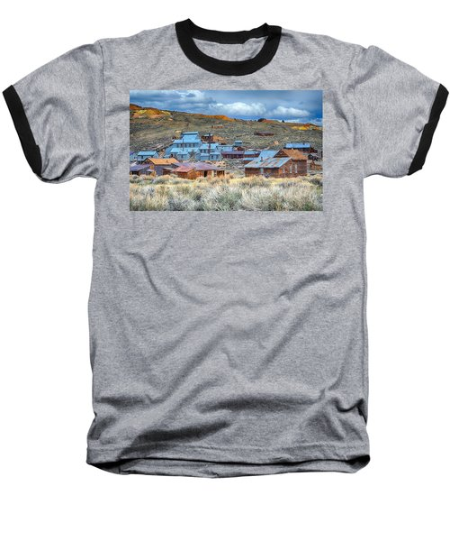 Old Bodie Gold Mining Town Baseball T-Shirt