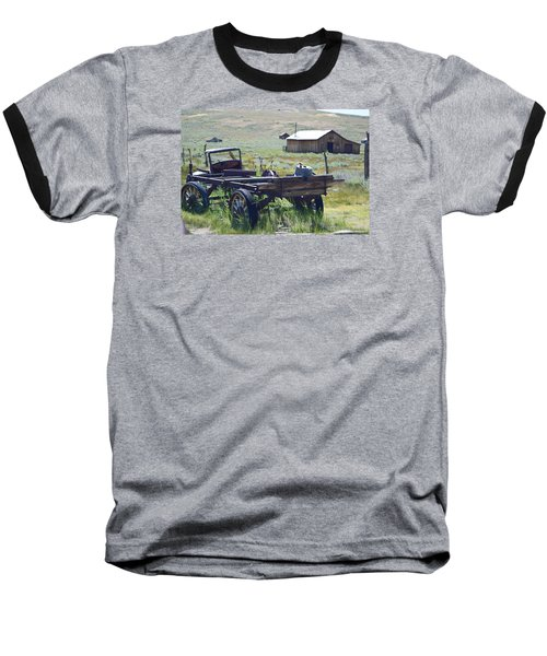 Old Bodie Wagon Baseball T-Shirt